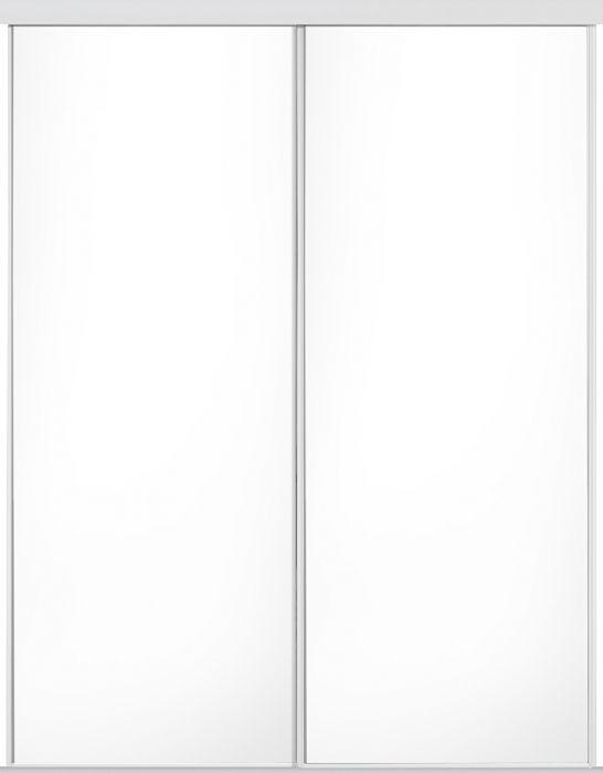 Liuguksed Lundbergs 1200 x 2318 mm, valge