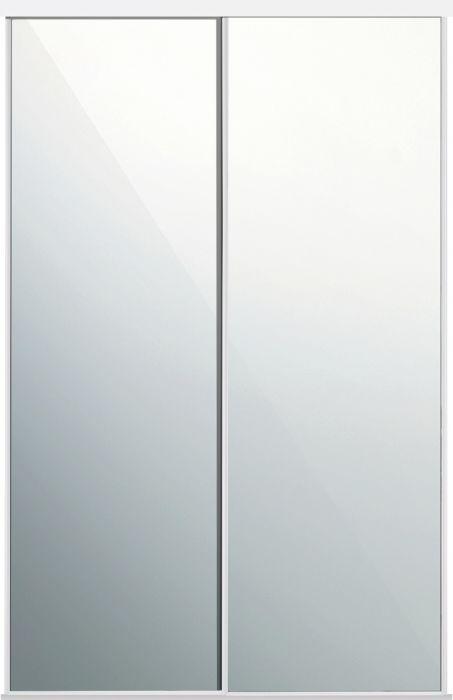 Liuguksed Lundbergs 1200 x 2318 mm, peegel