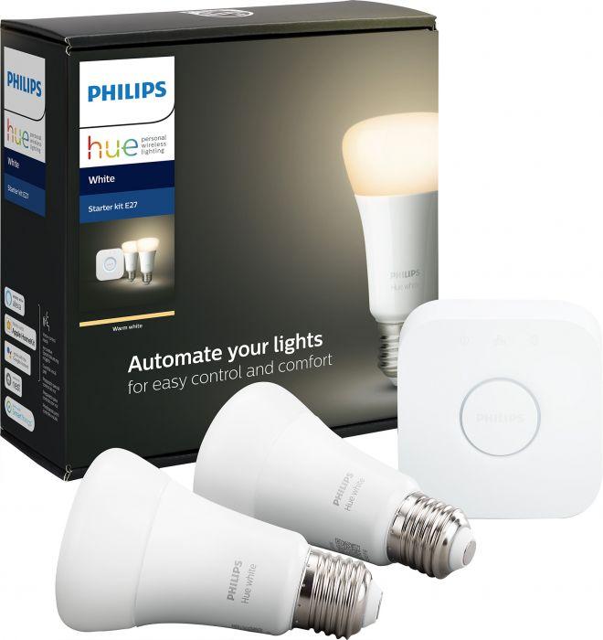 Stardikomplekt Philips Hue White 9W 2700 K E27