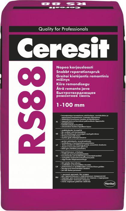 Kiire remondisegu Ceresit RS 88 25 kg