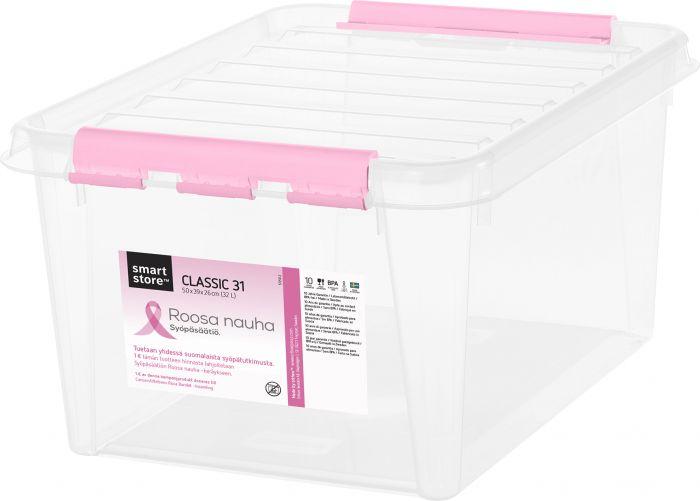 Säilituskast SmartStore roosa lint 50 x 39 x 26 mm