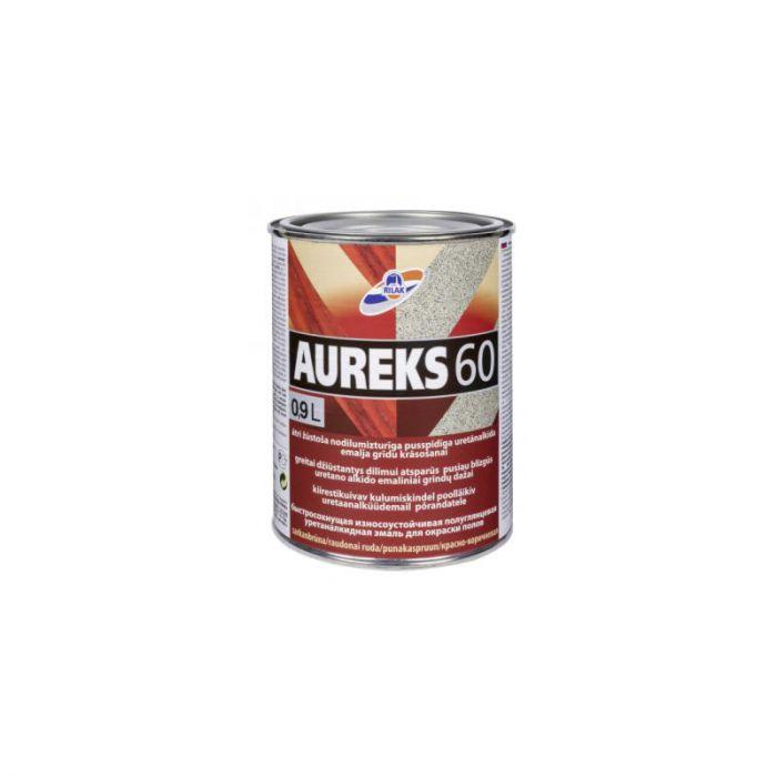 Põrandavärv Aureks 60 0,9 l punakaspruun