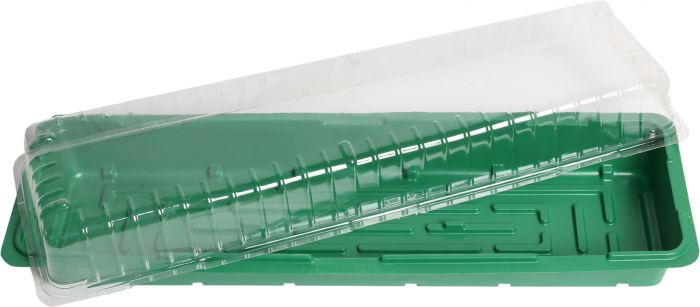 Minikasvuhoone aknalauale  57 x 17 x 12,5 cm