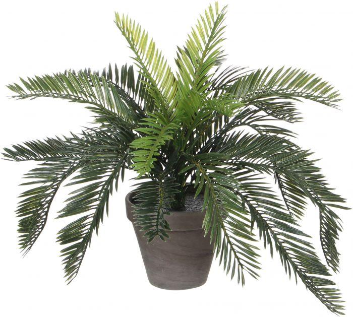 Kunstlill Rahu palmlehik 37 cm