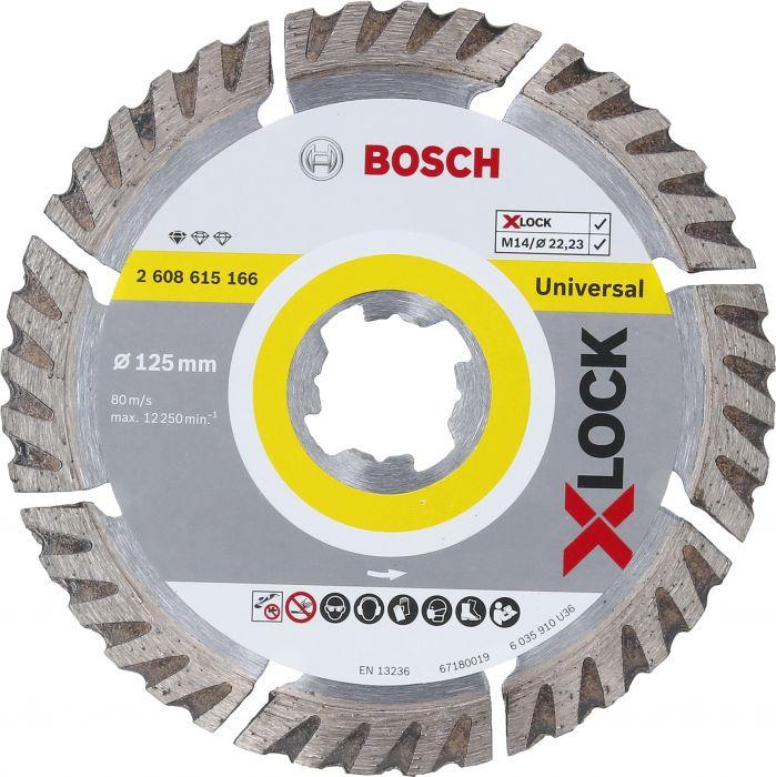 Teemantketas Bosch X-LOCK universaalne