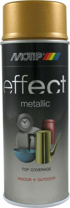 Aerosoolvärv Motip Effec Metallic Gold 400 ml