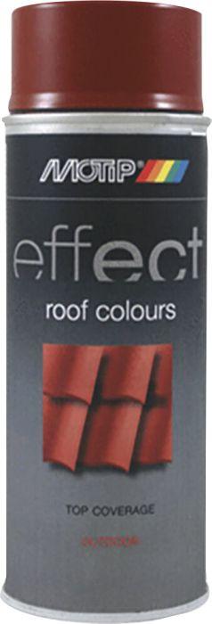 Aerosoolvärv Motip Effect Roofcolor RR29, punane 400 ml