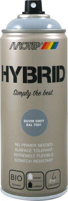 Aerosoolvärv Motip Hybrid Silver Grey 400 ml