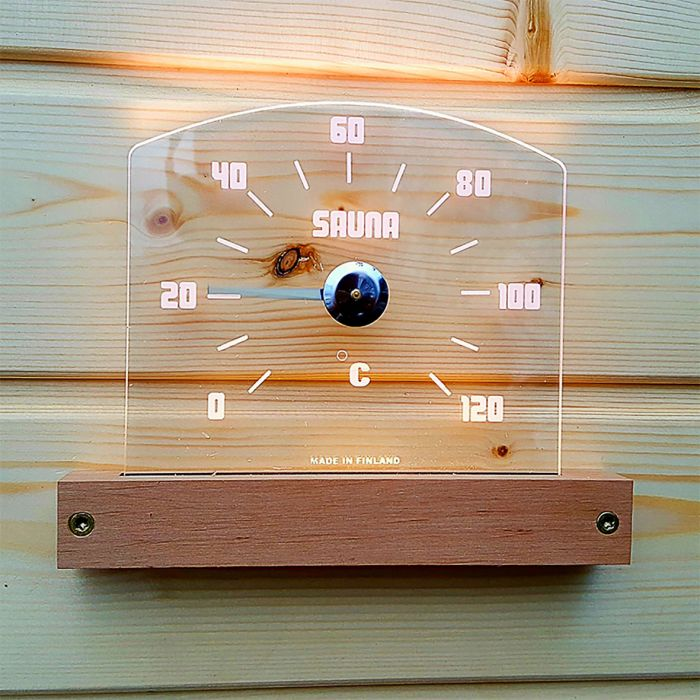 LED-sauna termomeeter Saunia