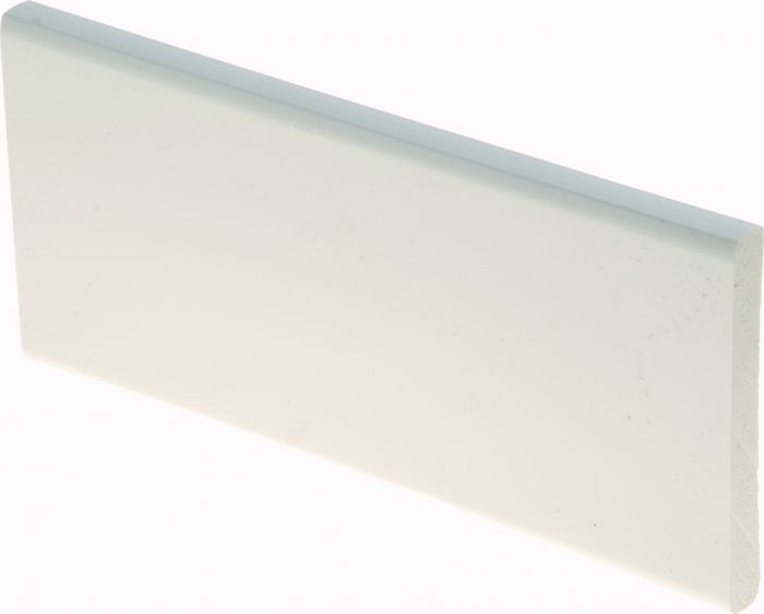 Katteliist PVC valge 10 x 70 x 2400 mm