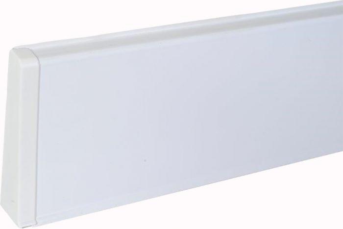 Põrandaliistu ots PVC valge vasak 22 x 75 mm