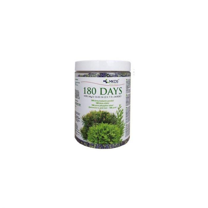 180 päeva okas- ja igihaljaste taimede väetis