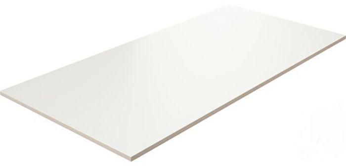 Seinaplaat Kerateam Kristall matt valge II sort 30 x 60 cm