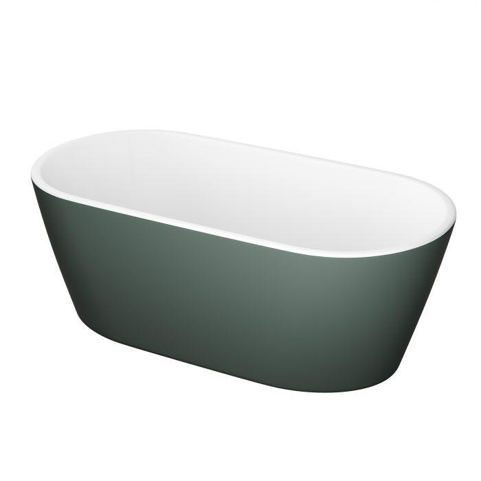 Vann Camargue Visby 160 cm, roheline/valge