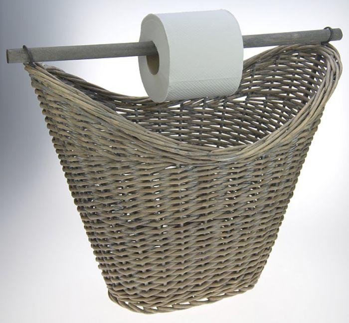 WC-paberikhoidja korv 45 x 25 x 37 cm