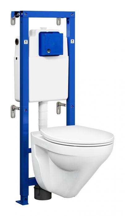 Seinapealne WC komplekt Gustavsberg Triomont All-In-One Nordic³