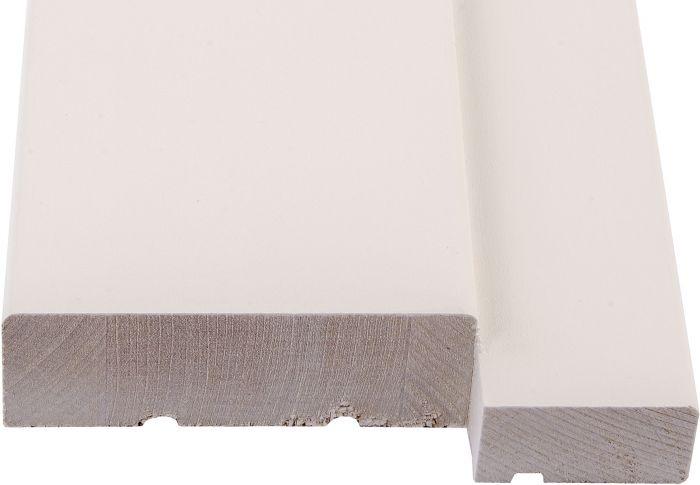 Ukse lävepakk Maler Kask Valge  M9  92 x 22/29 mm