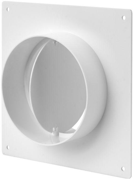 Toruühendus Europlast ⌀ 100 mm ventiili ja seinakinnitusega