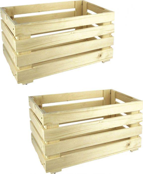 2 puidust kasti Regalux Heavy