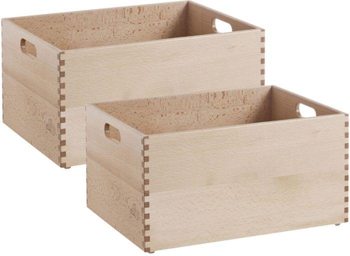 2 puidust kasti Zeller