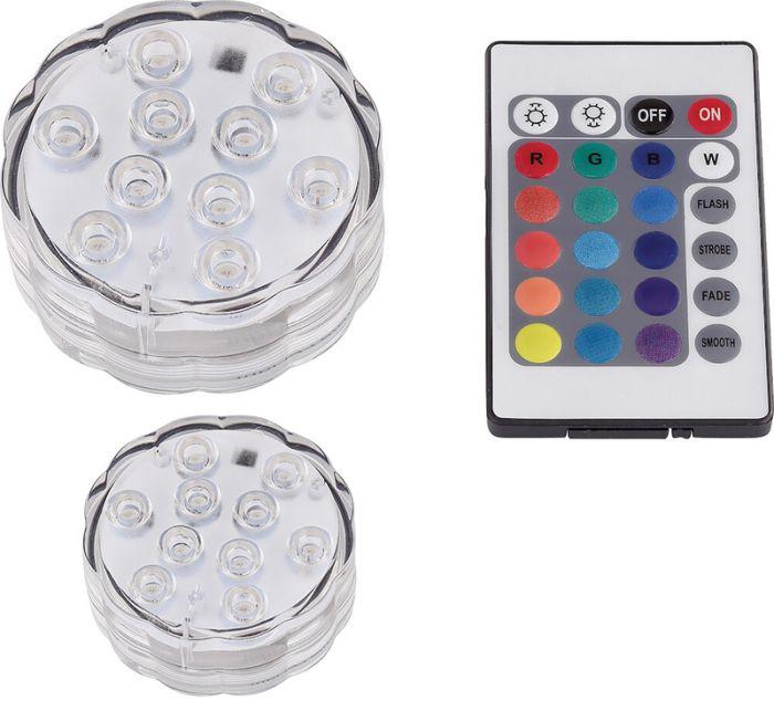 2 LED-valgustit Eglo Aqua Rainbow RGB 2 W