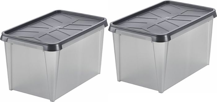2 säilituskasti SmartStore Dry 45