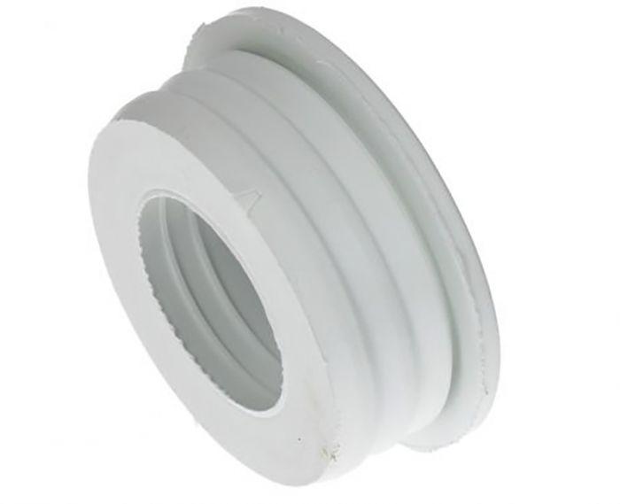 Üleminek kummist valge 54 x 26/30/32 mm