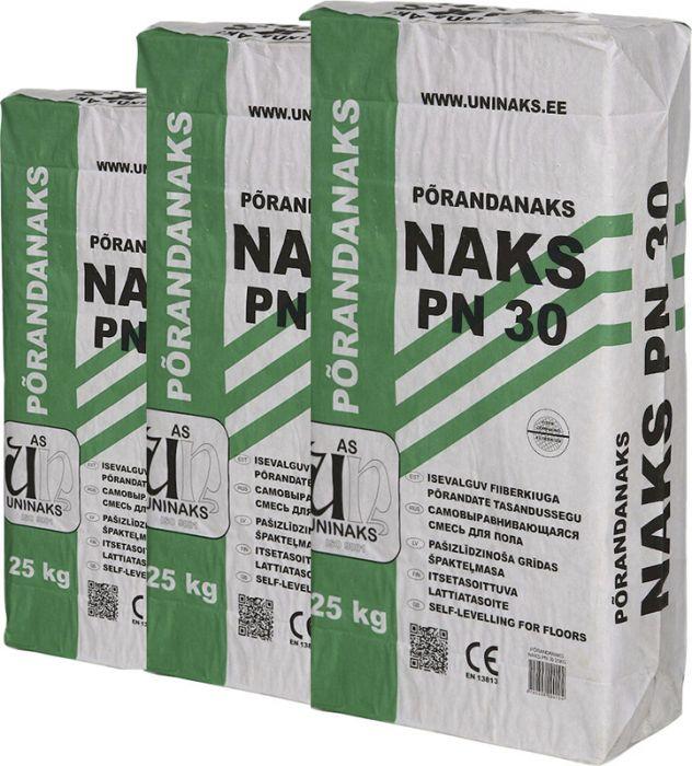 3 pakki Põrandanaks Uninaks PN30 25 kg