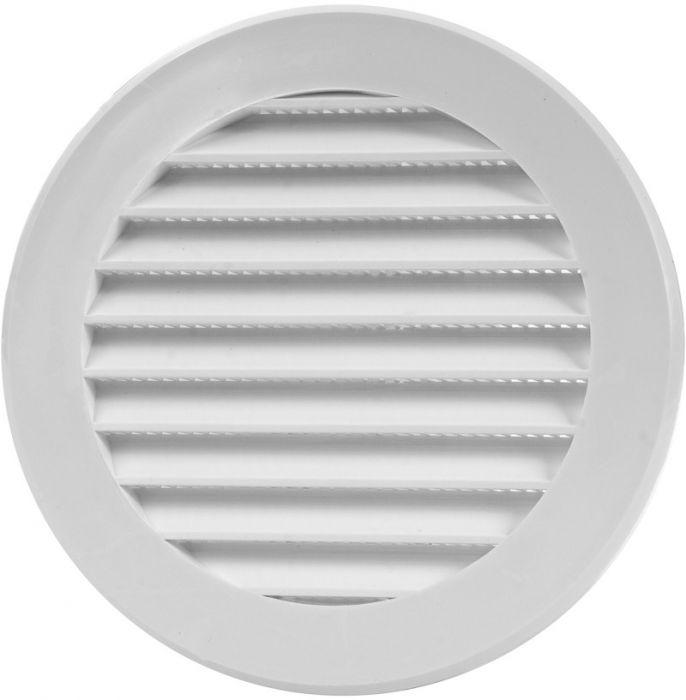 Ventilatsioonirest Europlast valge 125 mm