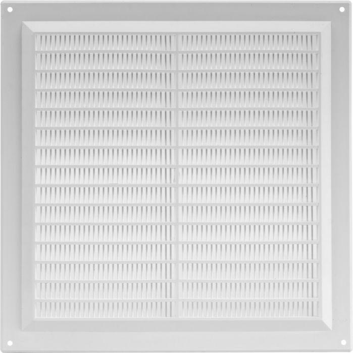 Ventilatsioonirest Europlast valge 250 x 250 mm