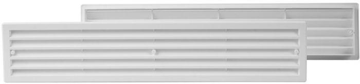Ventilatsioonirest Europlast valge 90 x 450 mm