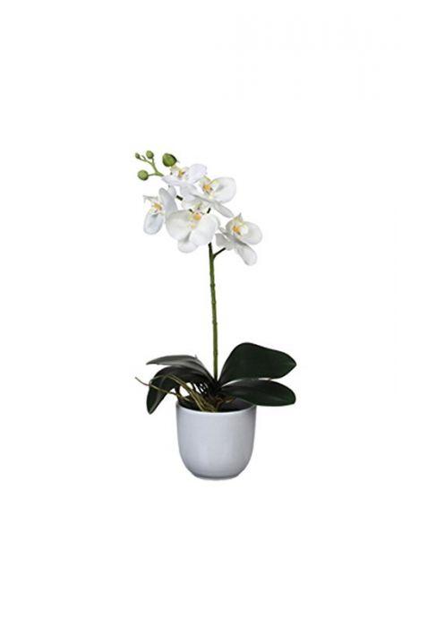Kunstlill orhidee 48 cm