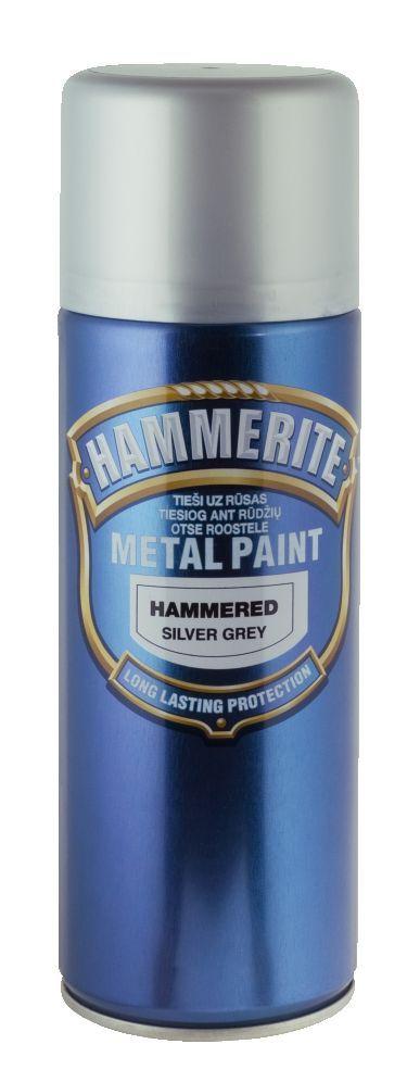 d8460b79820 Metallivärv Hammerite Hammered 400 ml, hõbehall