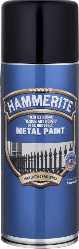 6fbb013a7ad Metallivärv Hammerite Hammered 400 lm, must