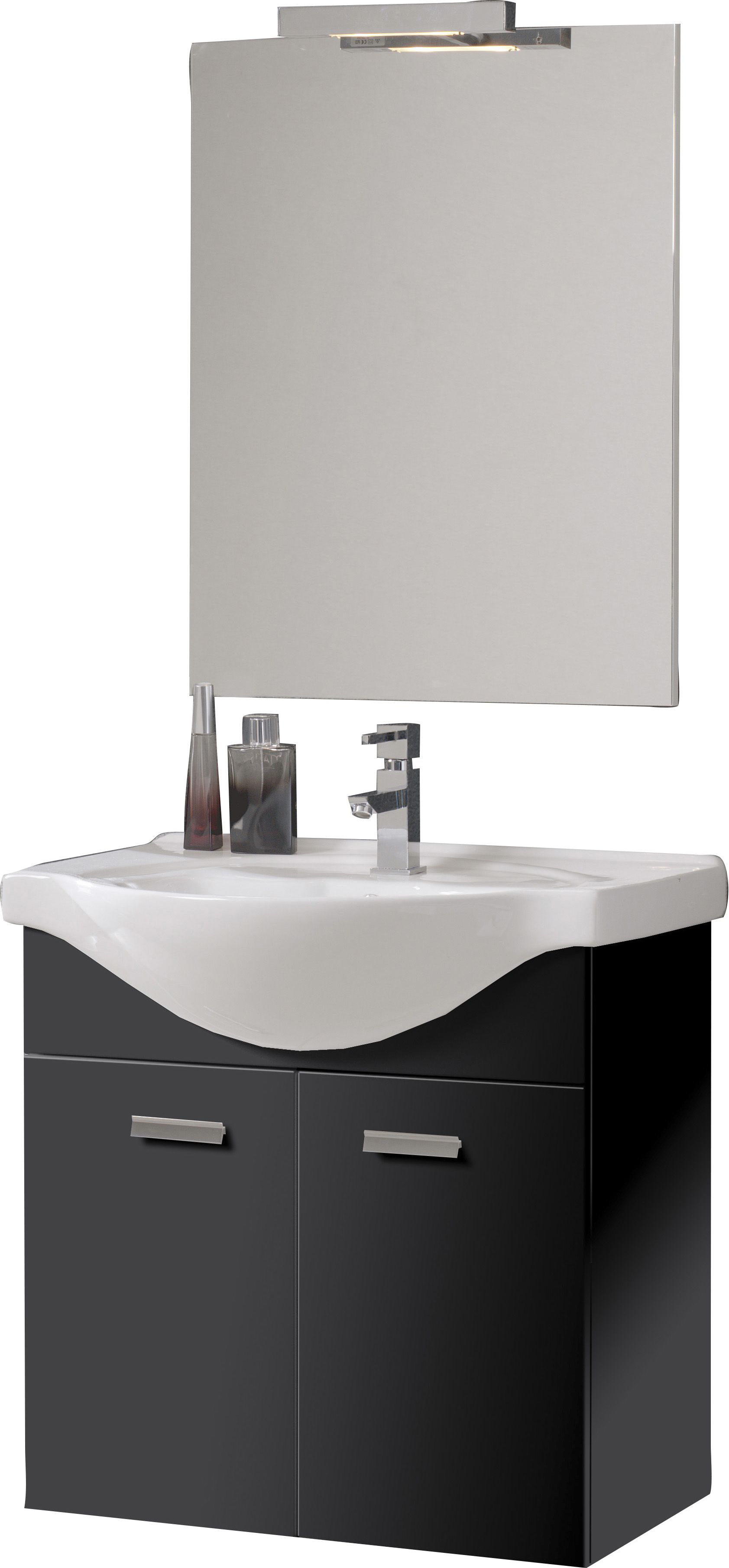 8070f63439d Vannitoamööbli komplekt Ordonez Bristol must 65 cm