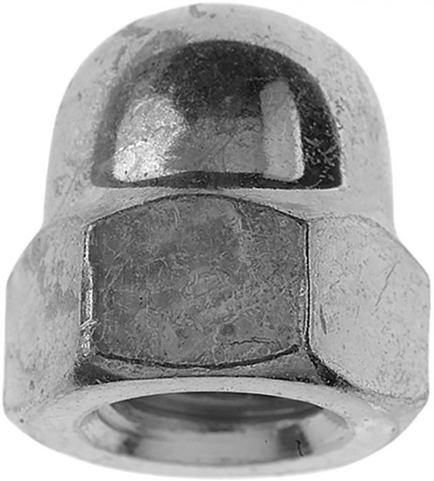 Kübarmutrid Profi Depot ZN, DIN1587, M5, 100 tk