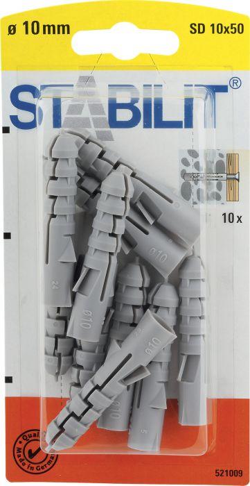Tüübel 10 x 50 mm