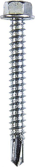 Puurkruvid Profi Depot kuuskant ZN, DIN7504K 4,8 x 25 mm 100 tk
