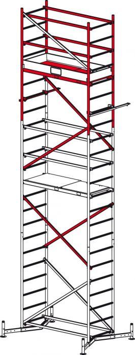 Teisaldatav ehitustelling ClimTec moodul 2