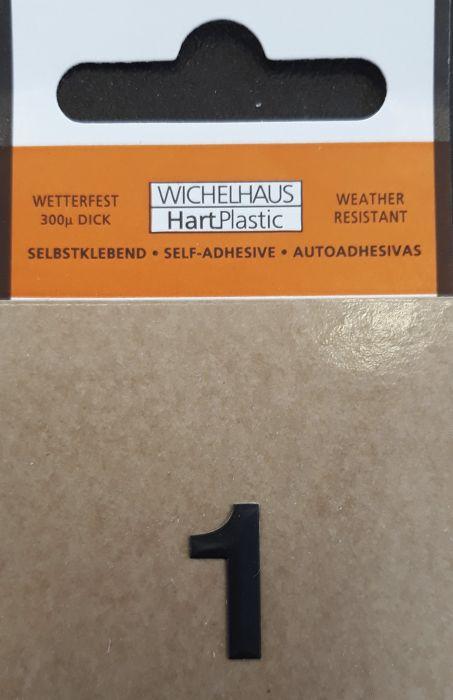 Number Wichelhaus HartPlastic 1 15 mm