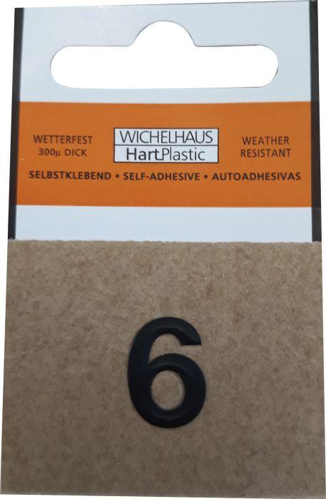 Number Wichelhaus HartPlastic 6 15 mm