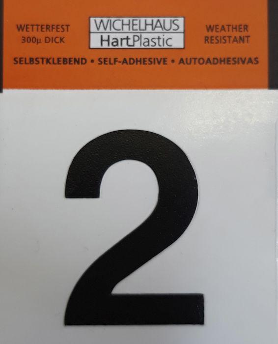 Number Wichelhaus HartPlastic 2 30 mm