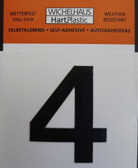 Number Wichelhaus HartPlastic 4 30 mm