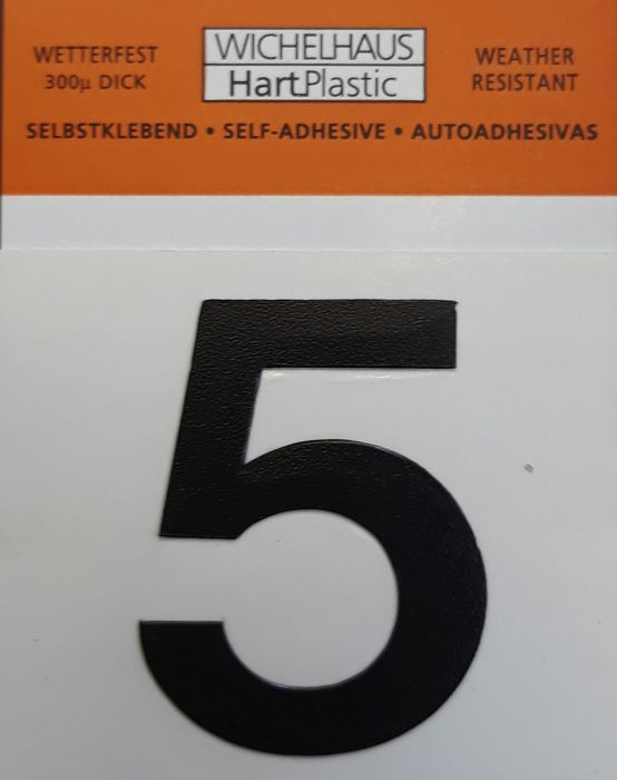 Number Wichelhaus HartPlastic 5 30 mm