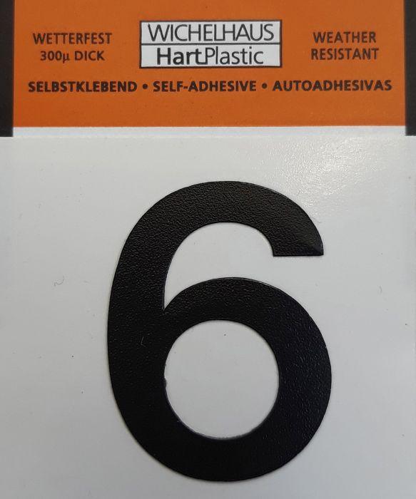 Number Wichelhaus HartPlastic 6 30 mm
