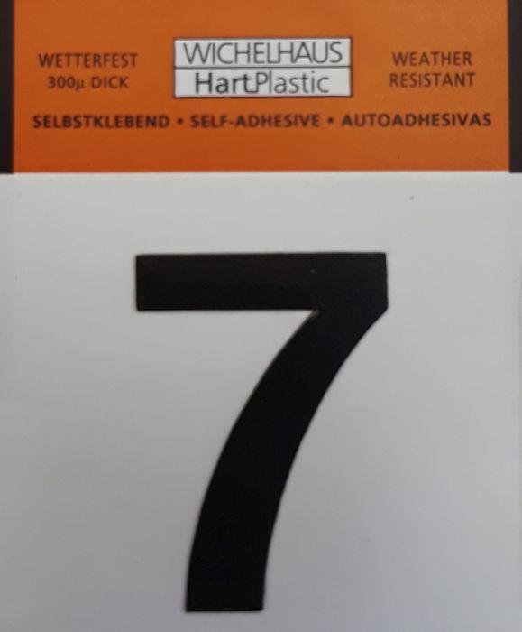 Number Wichelhaus HartPlastic 7 30 mm