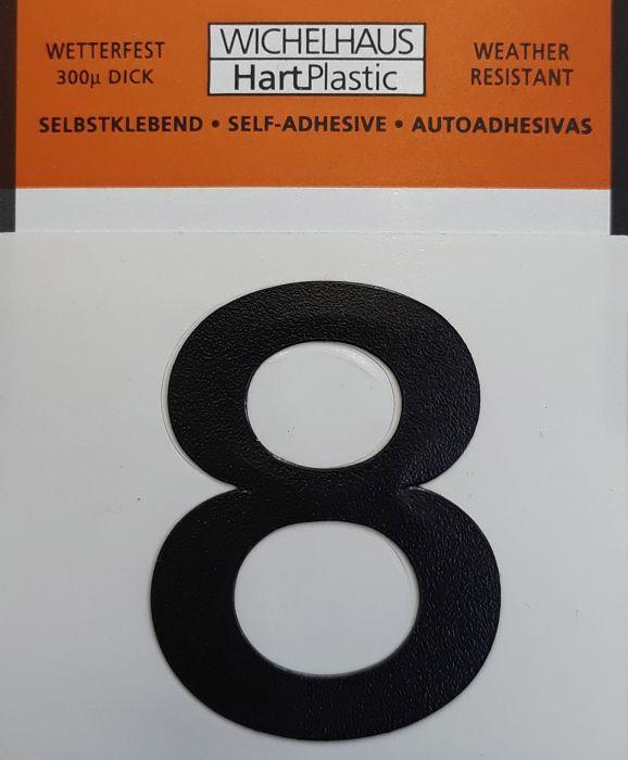 Number Wichelhaus HartPlastic 8 30 mm