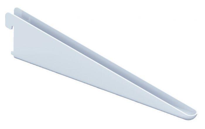 Riiulikandur Element System U-kujuline valge 17 cm