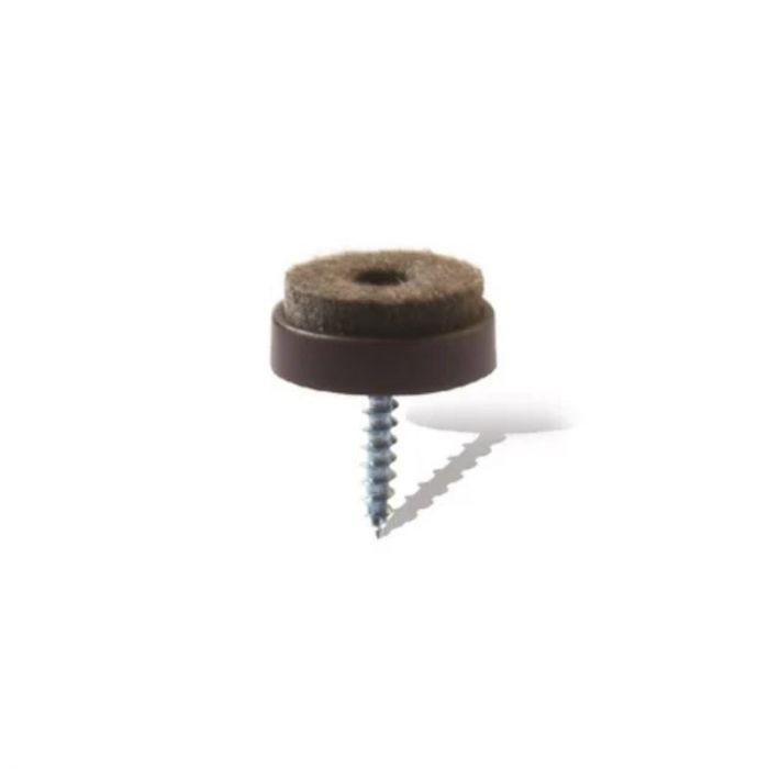 Parketikaitse kruvikinnitusega Ø 24 mm, 4 tk/pk