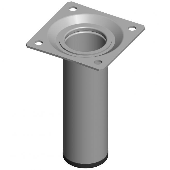 Mööblijalg Element System ümar alumiinium 100 mm ⌀ 30 mm